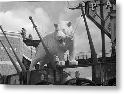 Comerica Park - Detroit Tigers Metal Print by Frank Romeo