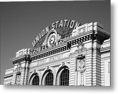 Denver - Union Station Metal Print by Frank Romeo