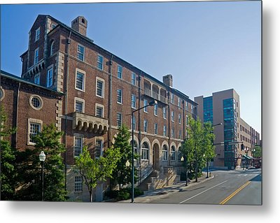 Downtown Knoxville Metal Print by Melinda Fawver