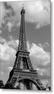 Eiffel Tower Metal Print by Ivete Basso Photography