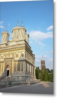 Episcopal Cathedral Of Curtea De Arges Metal Print
