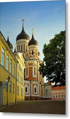 Estonia, Tallinn Metal Print by Jaynes Gallery