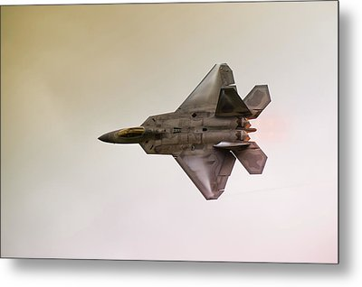 F-22 Raptor Metal Print by Sebastian Musial