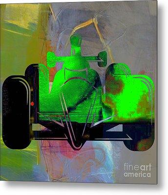 Formula One Race Car Metal Print by Marvin Blaine