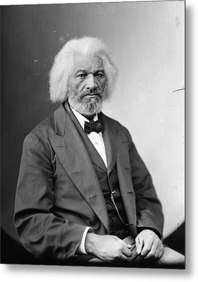 Frederick Douglass (c1817-1895) Metal Print by Granger