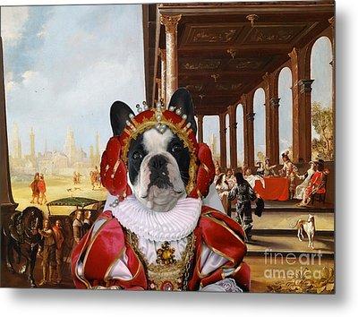 French Bulldog Art Canvas Print Metal Print