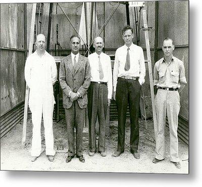 Goddard Rocket Research Metal Print