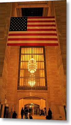 Grand Central Station Metal Print by Dan Sproul