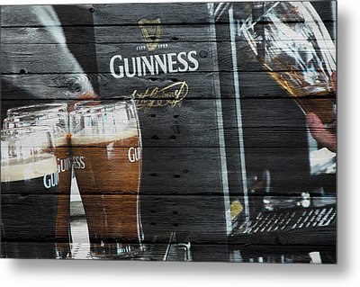 Guinness Metal Print by Joe Hamilton