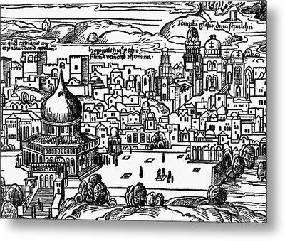 Holy Land Jerusalem Metal Print by Granger