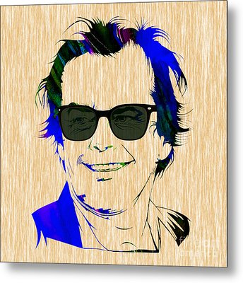 Jack Nicholson Collection Metal Print by Marvin Blaine