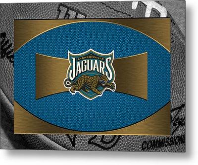 Jacksonville Jaguars Metal Print by Joe Hamilton