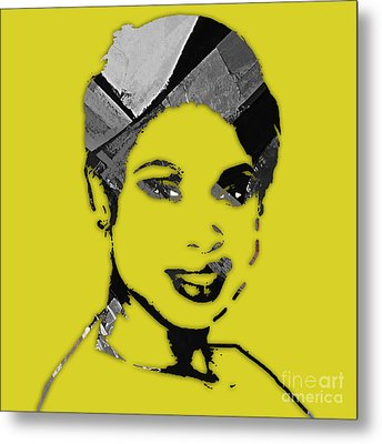 Jennifer Hudson Collection Metal Print by Marvin Blaine