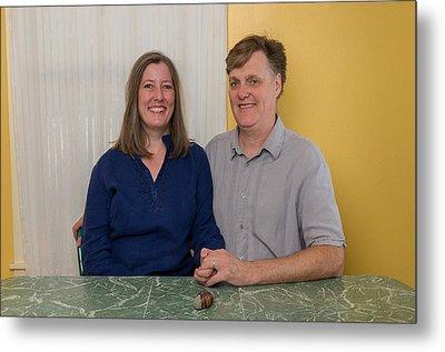 Kathy And Allan Metal Print by John Maffei