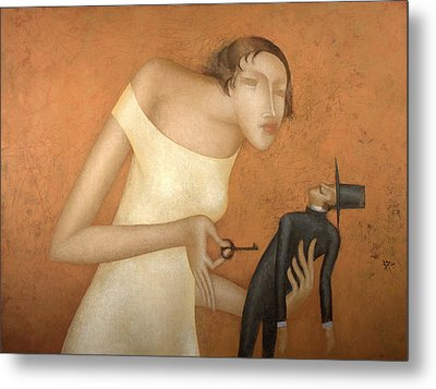 Key Metal Print by Nicolay  Reznichenko