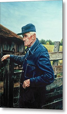 Lee Of Hartland Metal Print