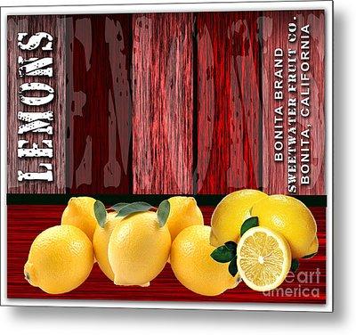 Lemon Farm Metal Print by Marvin Blaine