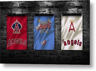 Los Angeles Angels Metal Print by Joe Hamilton