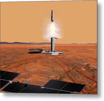 Mars Sample Return Mission Metal Print