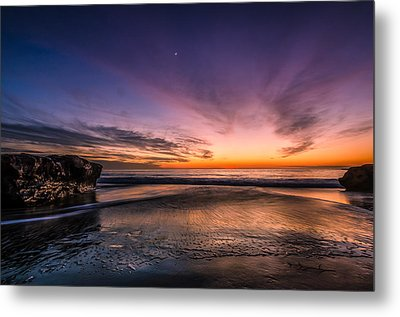 4 Mile Beach Sunset Metal Print