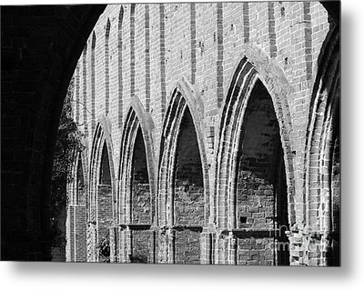 Monastery Ruins Metal Print by Four Hands Art