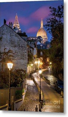 Montmartre Twilight Metal Print by Brian Jannsen