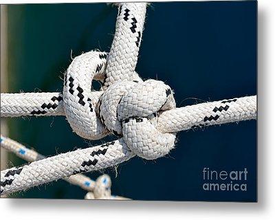 Nautical Knots Metal Print by George Atsametakis