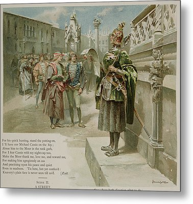 Othello. The Moor Of Venice Metal Print by British Library