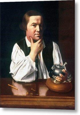 Paul Revere (1735-1818) Metal Print by Granger