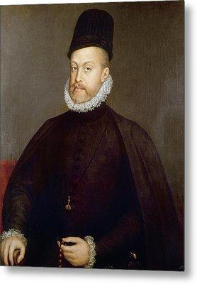 Philip II Of Spain (1527-1598) Metal Print by Granger