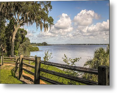 Metal Print featuring the photograph Philippe Park by Jane Luxton