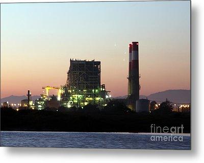 Power Station Metal Print by Henrik Lehnerer