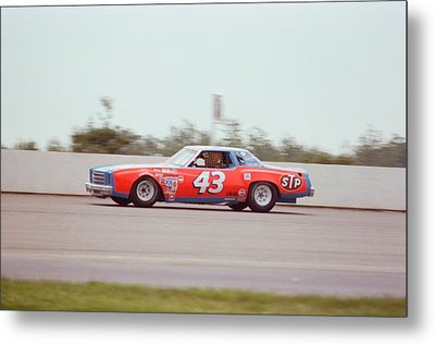 Richard Petty Metal Print