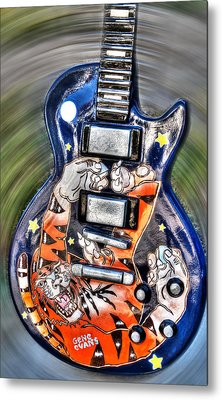 Rock N Roll Collection Metal Print