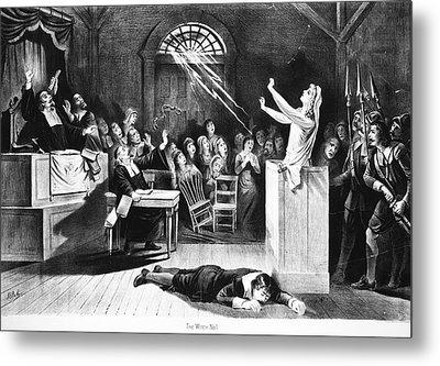 Salem Witch Trial, 1692 Metal Print by Granger