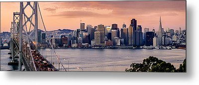 San Francisco Metal Print by Radek Hofman