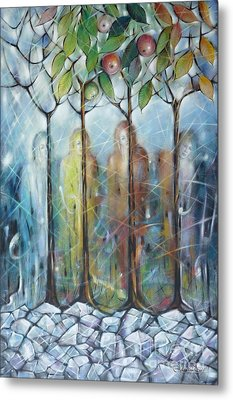4 Seasons On Ice 061110 Metal Print by Selena Boron