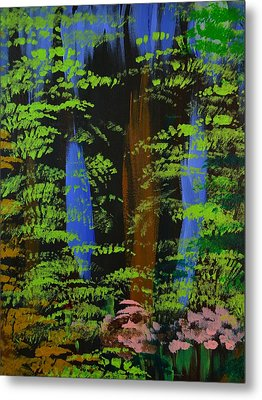 Metal Print featuring the painting 4 Seasons Spring by P Dwain Morris