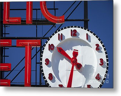 Seattle Market Sign Metal Print