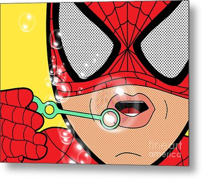 Spiderman  Metal Print