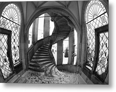 Spiral Staircase Metal Print by Falko Follert