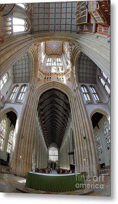St Edmundsbury Cathedral  Metal Print