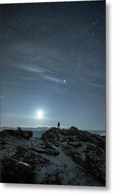 Stargazing Metal Print by Tommy Eliassen