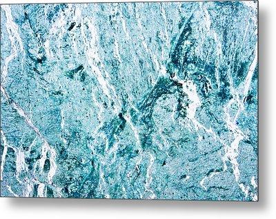 Stone Background Metal Print by Tom Gowanlock