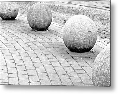 Stone Balls Metal Print by Tom Gowanlock
