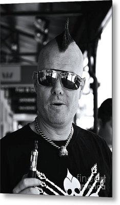Street Photography Metal Print by Bobby Mandal