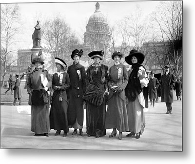 Suffragettes, 1913 Metal Print by Granger
