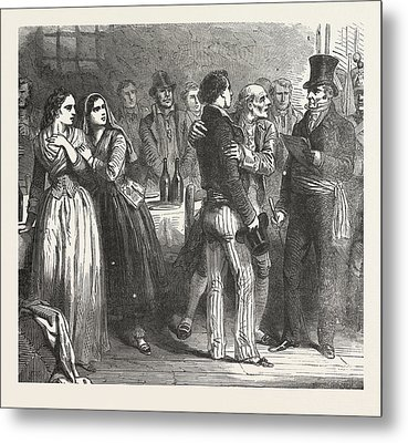 The Count Of Monte Christo Alexandre Dumas, 1844 Metal Print