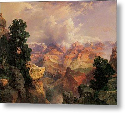 The Grand Canyon Metal Print by Thomas Moran