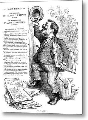 Thomas Nast (1840-1902) Metal Print by Granger